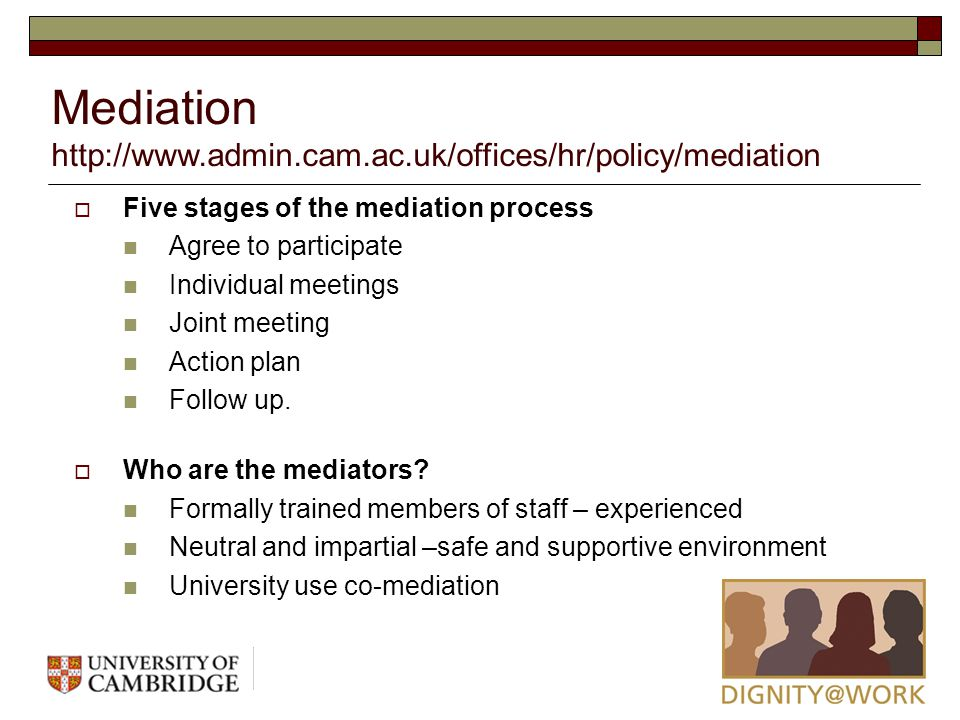 mediation policy Faculty handbook mediation policy this policy was endorsed by the university committee on faculty affairs and was issued by the office of the provost on may .