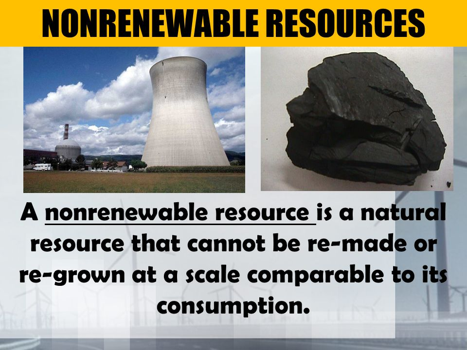Is Natural Gas Considered A Nonrenewable Resource