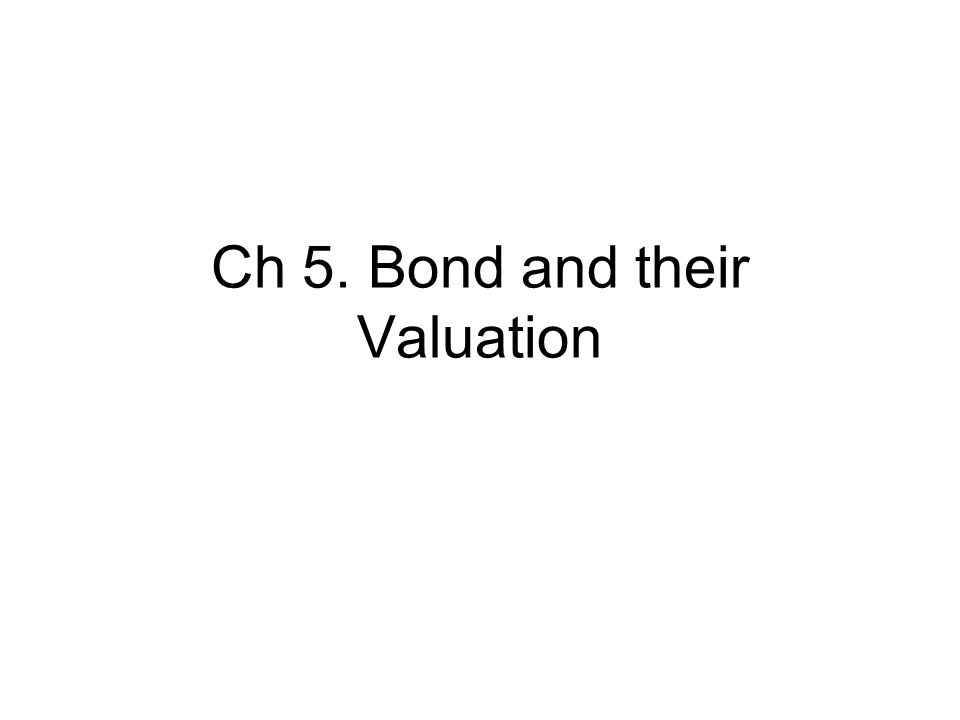 bonds and their valuation The initial market discount rate is 65% based on our previous section on fixed  rate bond valuation we can calculate the value of the bond to be equal to 93766.