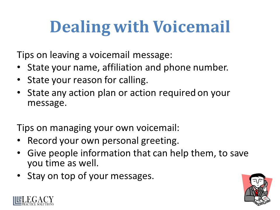 how to set a timed voicemail