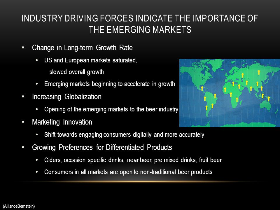 forces driving change in the bottled water industry Analysis driving factors and its  competitive forces  following are the underlying drivers of change in the bottled water industrytaste and.