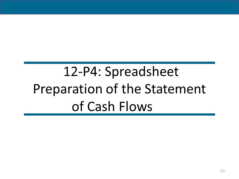 preparation of cash flow statement pdf