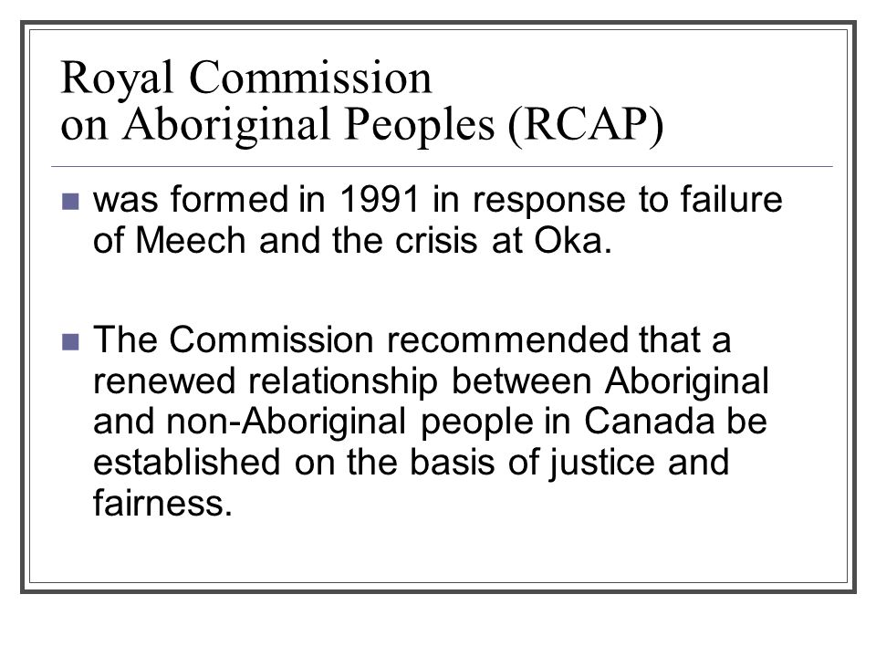 Why does the Canadian justice system treat aboriginal people as if they're all the same?