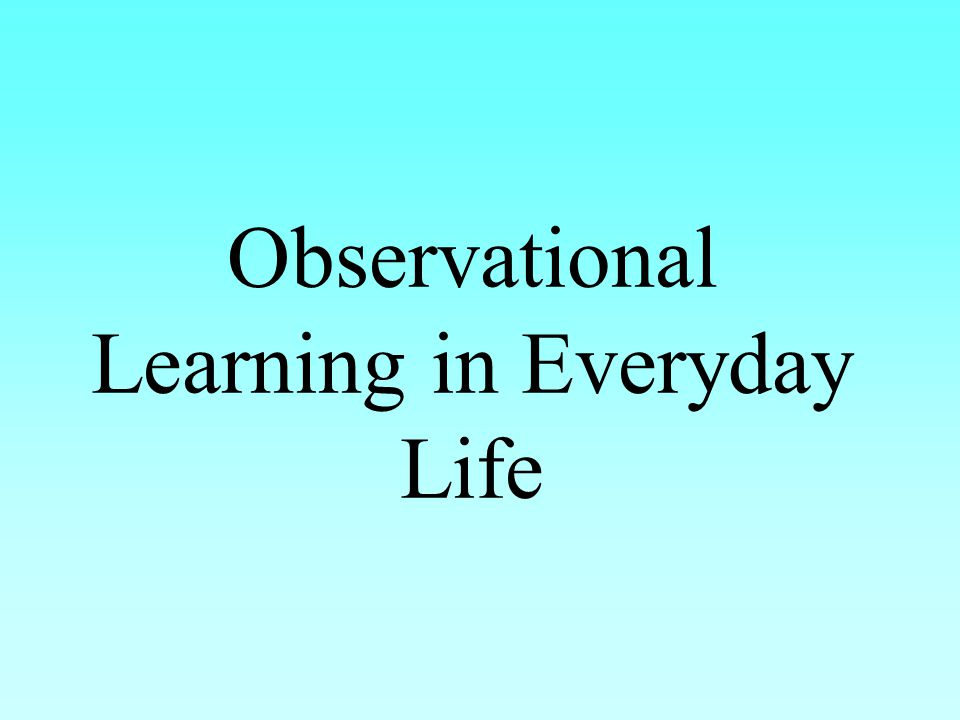 learning and everyday life What significance does latent learning, transfer learning and insight learning have in everyday life latent learning latent learning is a form of learning in animals that is not immediately expressed in an overt response it occurs without obvious reinforcement to be applied later.