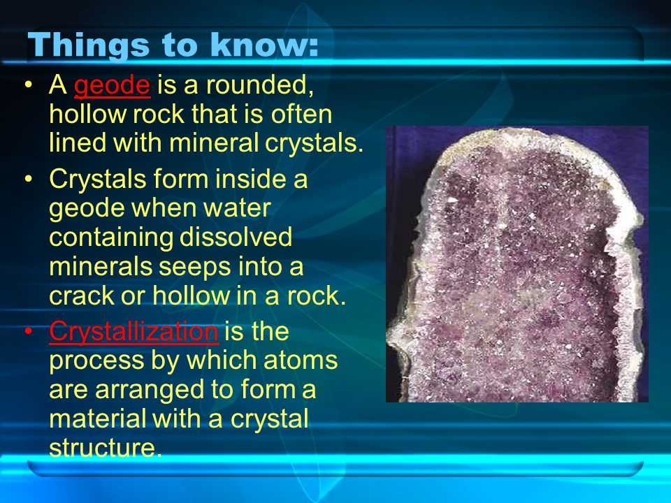 How minerals form. - ppt video online download