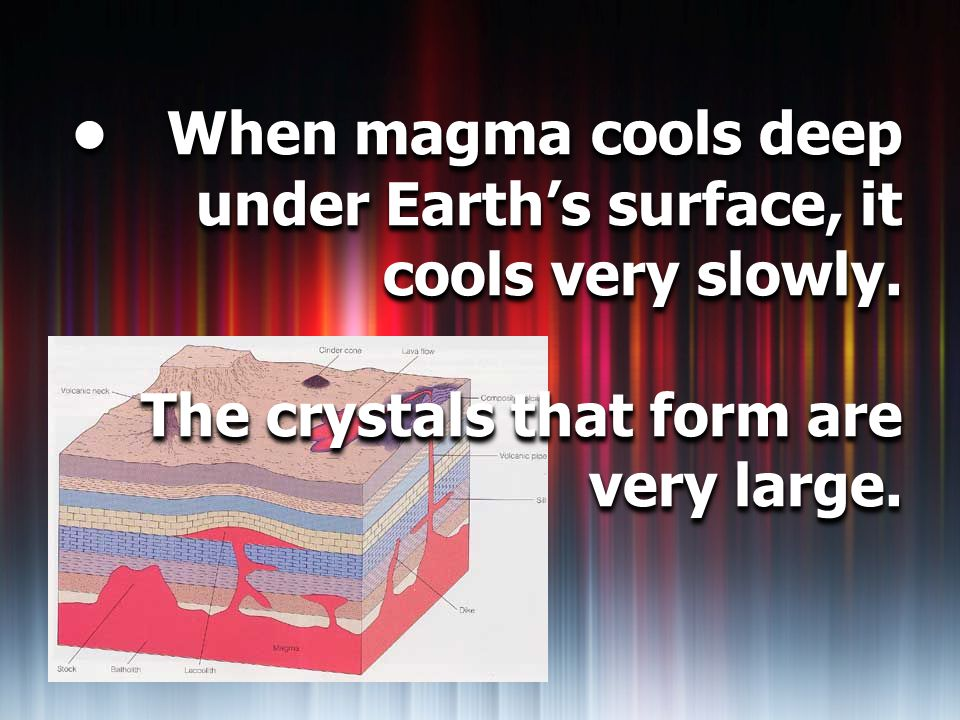How Minerals Form Section ppt download