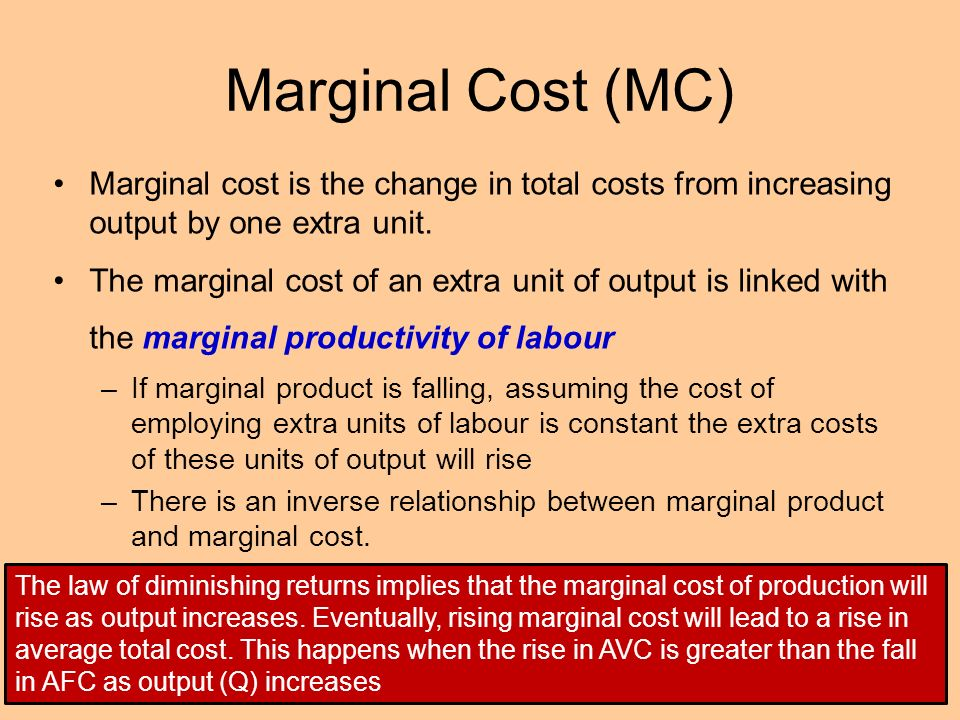 theory of production and cost pdf