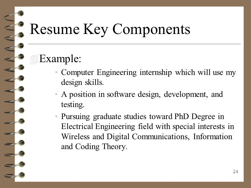 digital communications resume