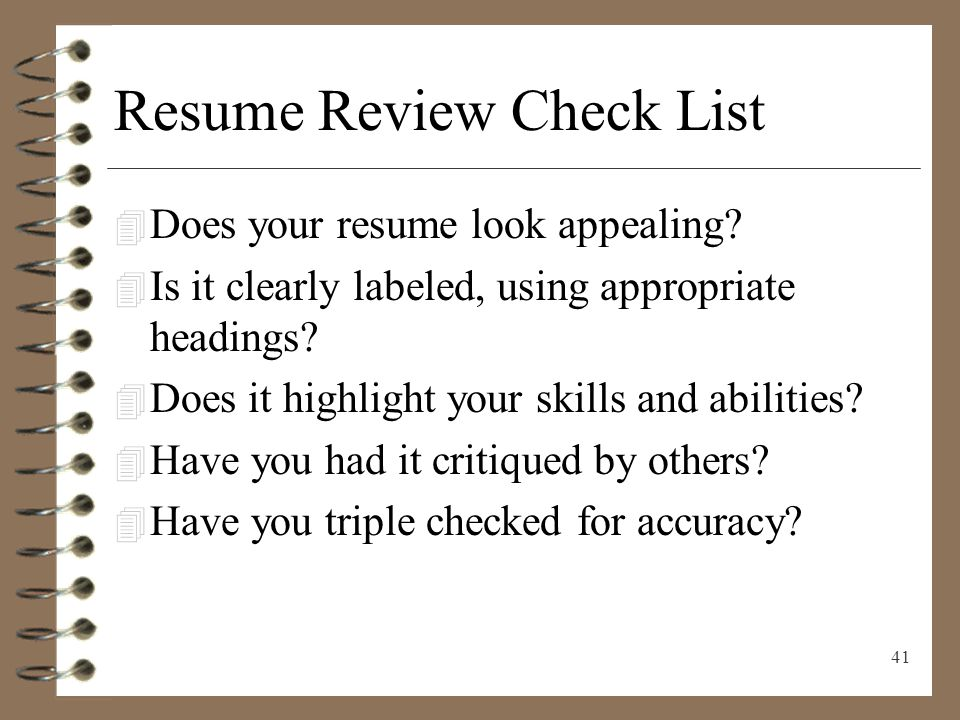 resume writing presenting yourself on paper ppt video online