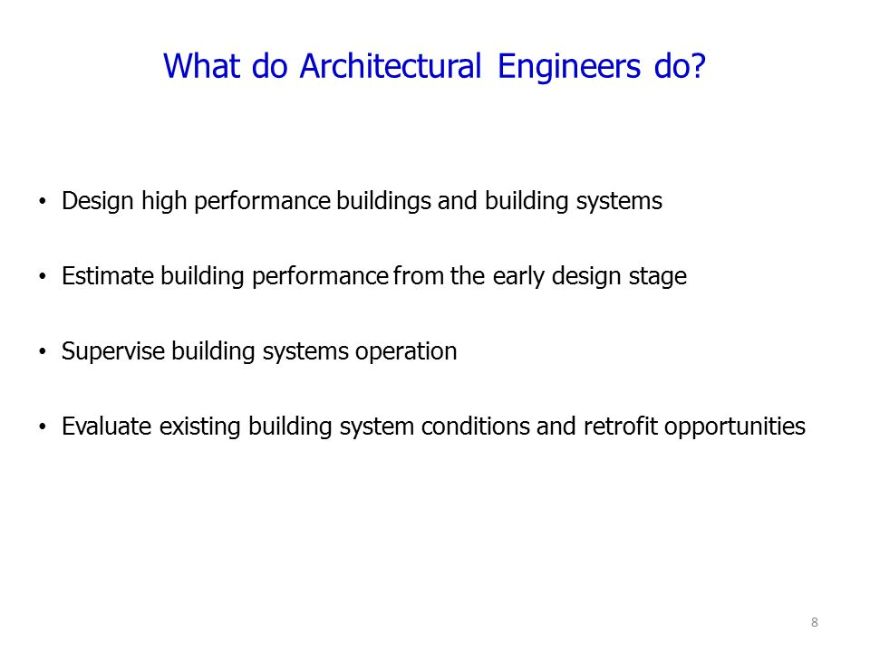 Do Architectural Engineers Design Buildings