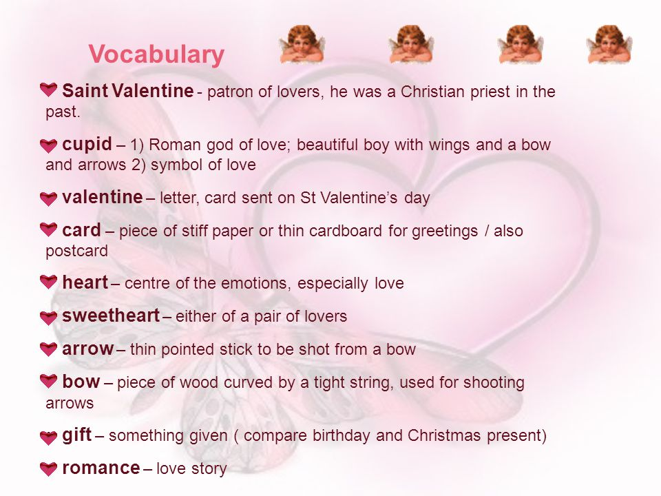 St Valentines Day 14th February ppt video online download – Saint Valentine Card