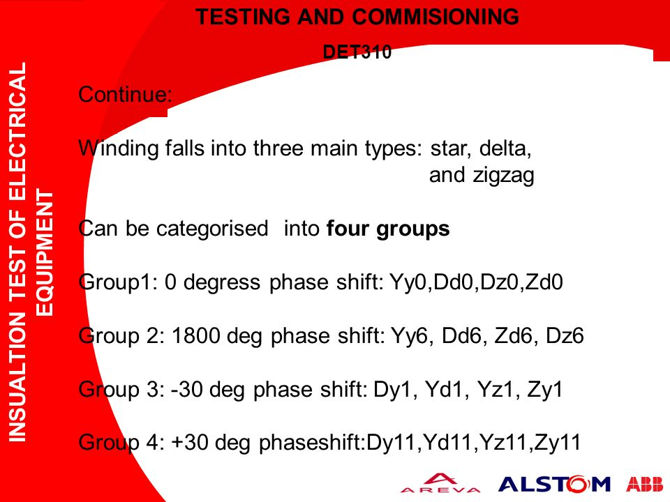 Types Of Electrical Test Equipment : Testing and commisioning ppt video online download