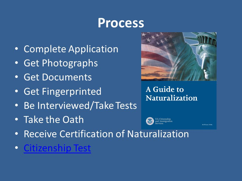 naturalization process Naturalization jump to navigation jump to search for the biology usage, see naturalisation (biology) and invasive species the examples and perspective in this.