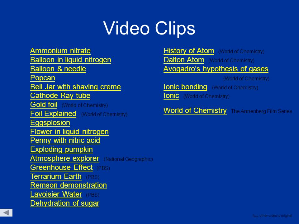 World Of Chemistry Video Worksheets - Mmosguides