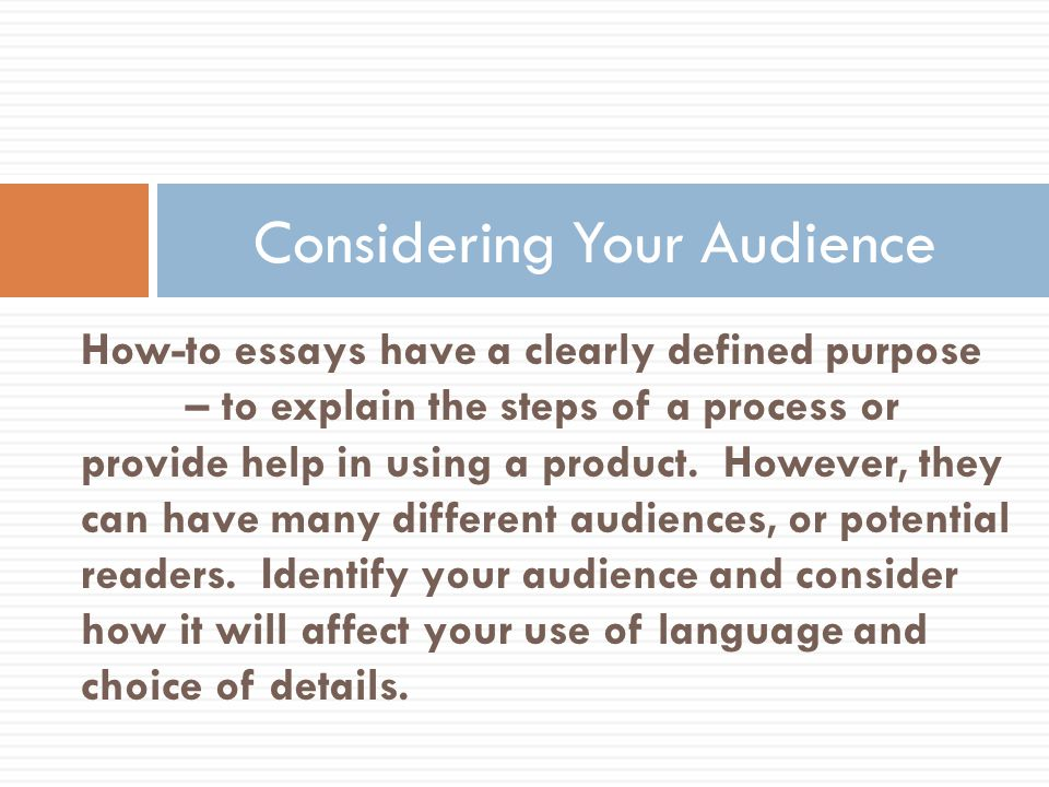 how to essay effective writers use informational writing to inform  10 considering your audience