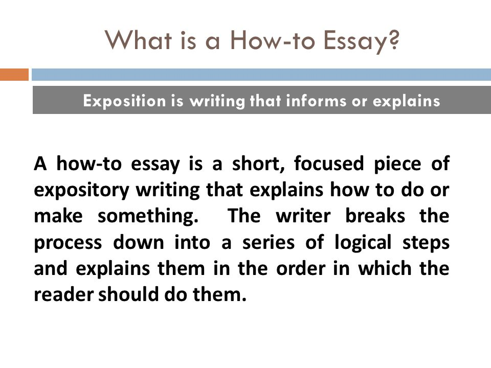 Expository essay topics 2017