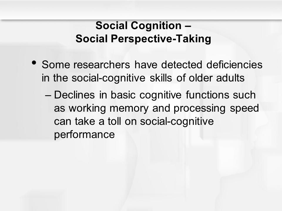 taking a look at social cognition Social cognitive theory is also referred to as a theory of theories, or a meta theory it is primarily divided into four processes of goal attainment: 1) self-observation, 2) self-evaluation, 3) self-reaction, and 4) self-efficacy.