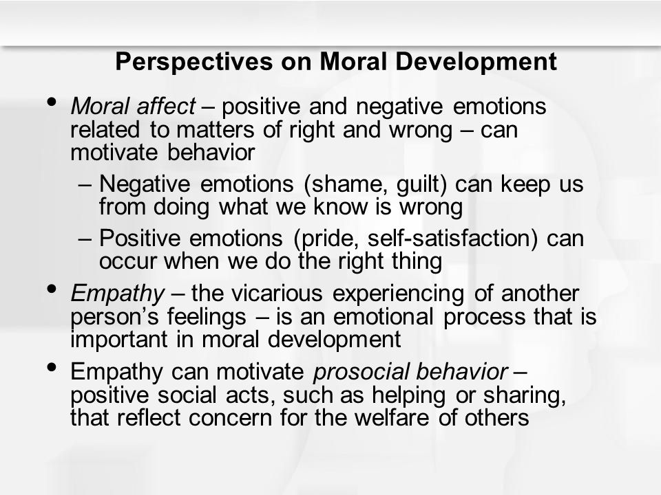 reflection paper of social moral and emotional development Find peer-reviewed journals that publish developmental psychology emotional, and social development and moral and social development will be considered.