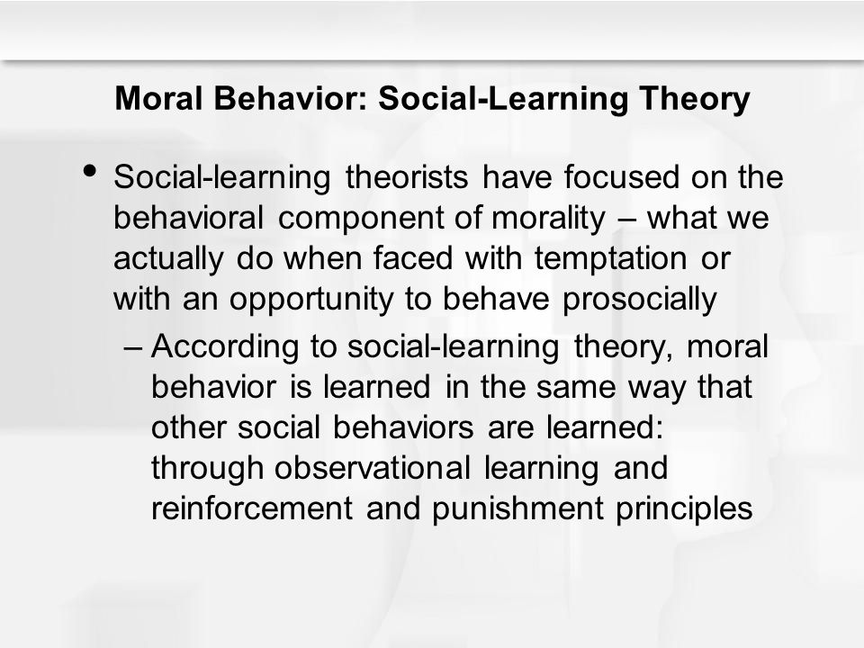 Essays on Behavioral and Social Learning Approaches Personality