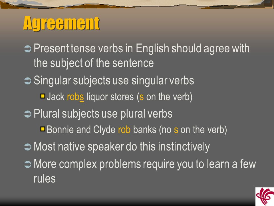 Only For English Learning 20 Rules Of Subject Verb Mandegarfo