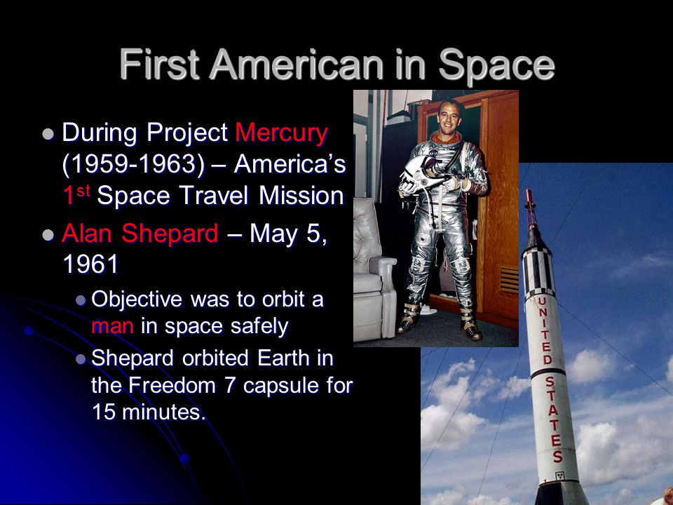 Space Technology and Early Space Missions - ppt download