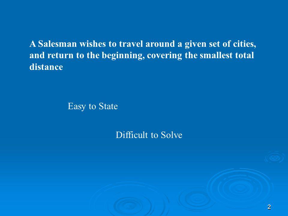 The Travelling Salesman Problem Tsp Ppt Video Online