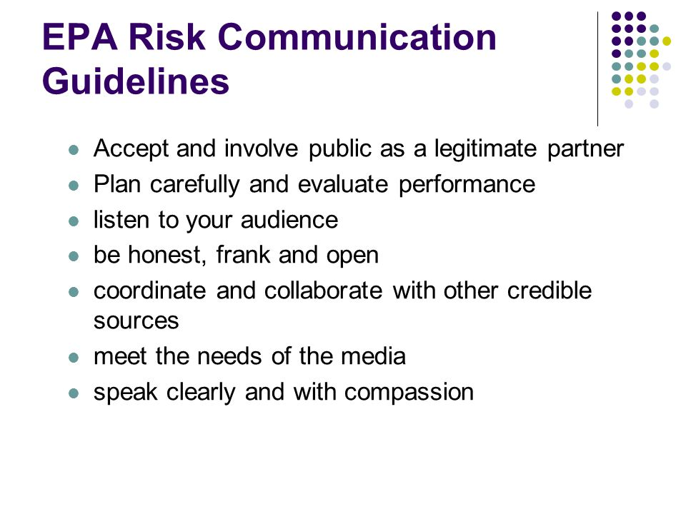 guidelines for effective communication ppt