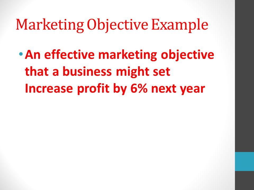 506B Set Marketing Goals and Select marketing metrics ppt video – Marketing Objective Example