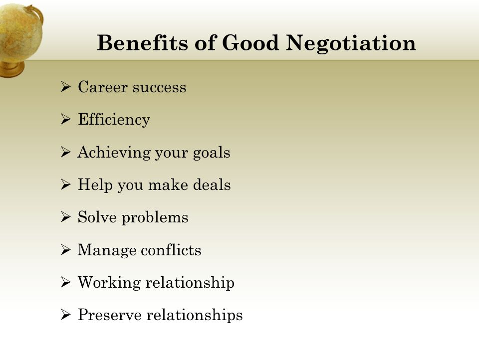 negociation skills negotiations that preserve relationships Start studying negotiations quiz 2 learn vocabulary,  negative/ambiguous relationships 2  preserve some leverage while reducing the risk of acquiring a.