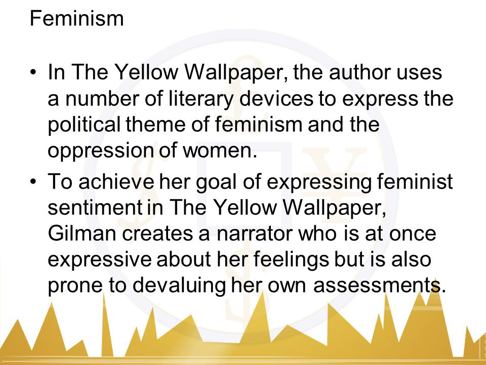 College Essay Titles Feminism Personal Essay On Death also Essay On Poor People The Yellow Wallpaper By Charlotte Perkins Gilman  Ppt Download Mitosis And Meiosis Essay