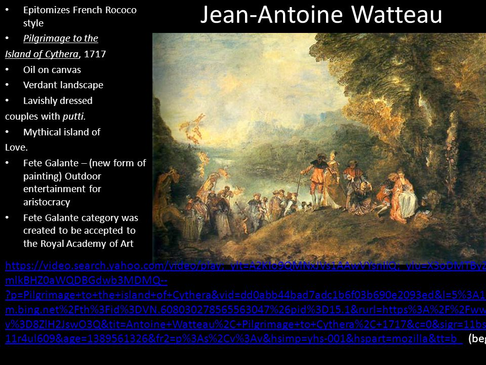 18th century art chapter ppt video online download