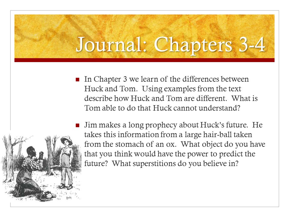 huckleberry finn superstitions - essay