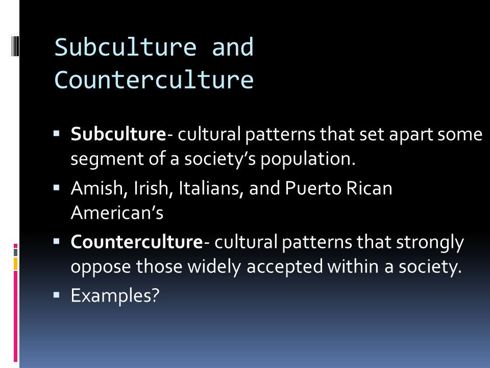 dominant american cultural patterns Cultural norms are what keep people moving in a  cultural norms: definition & values  the term 'culture' refers to attitudes and patterns of behavior in a.