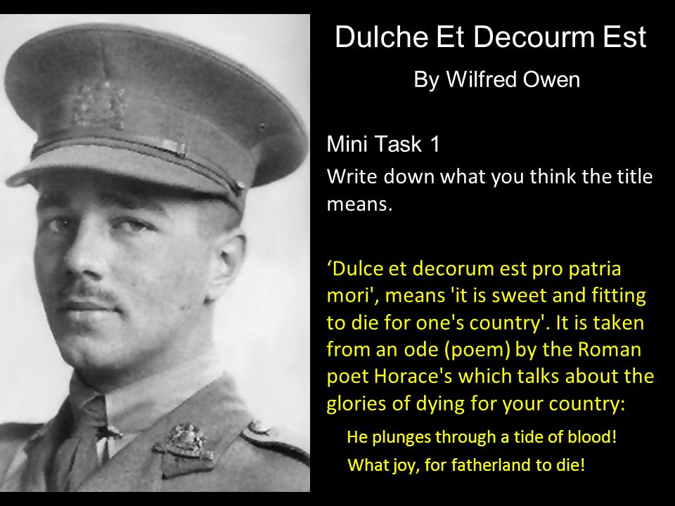 asleep wilfred owen He is aware of the implications of guilt associated with the blood, which haunts  lady macbeth as she tries to clean her hands while she sleep-walks.