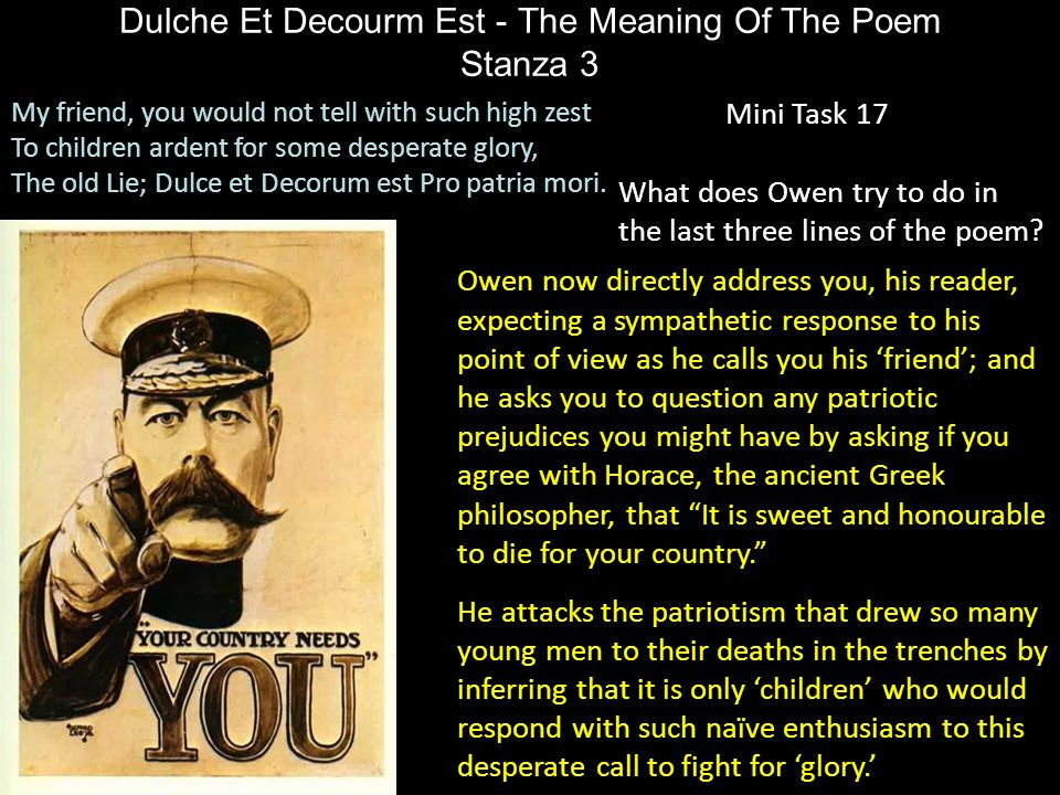 By wilfred owen 8 march 1893 4 november ppt download for Decorum meaning