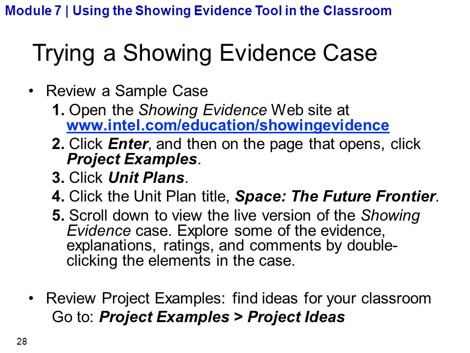 how to find evidence to support a claim