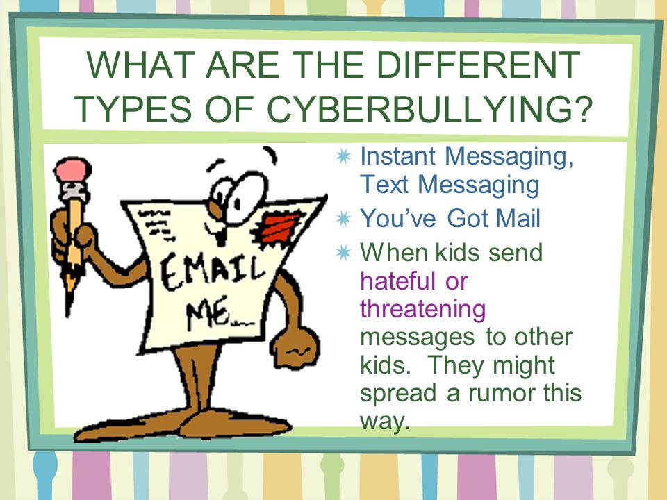 Instant Messages With Others : Cyberbullying hopkins school guidance program ppt video
