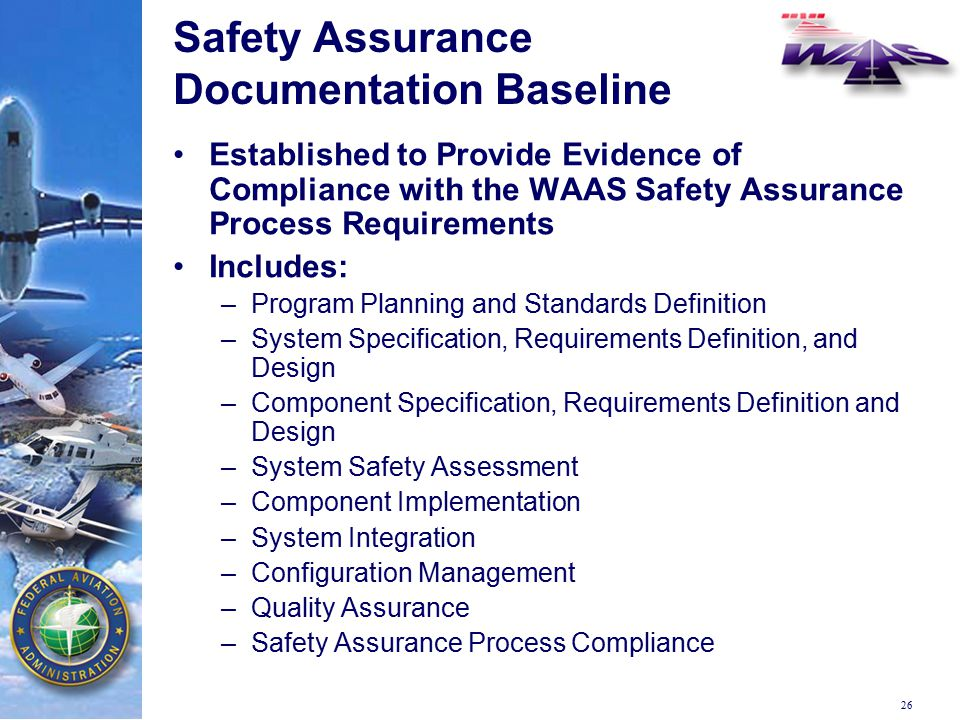 System Certification Safety Assurance Of Waas Ppt Download