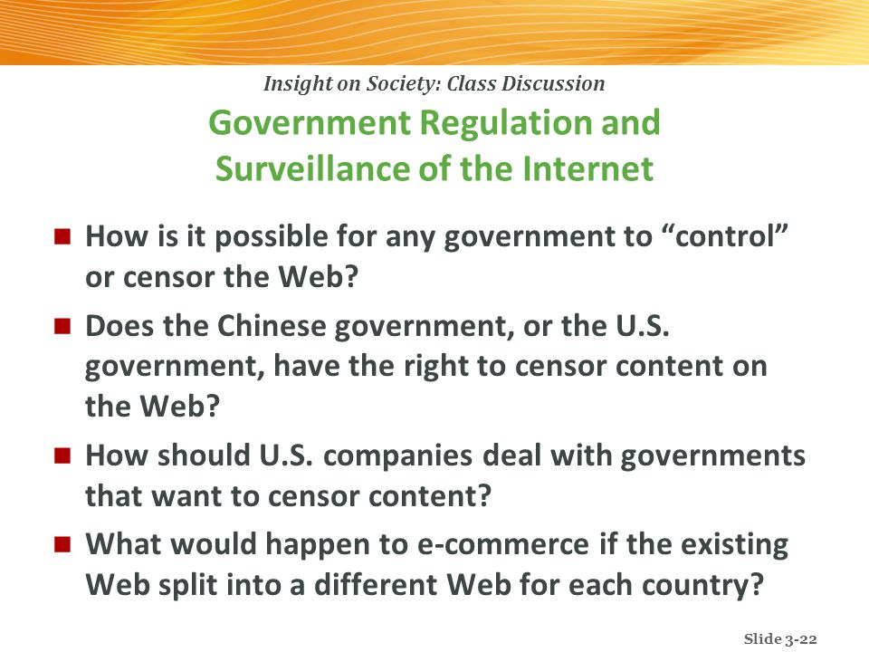 government regulation on the internet Experts told cnbc that many of new regulatory measures beijing  websites to  be overseen by government-approved editorial staff and for.