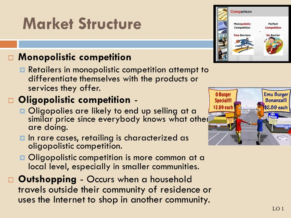 Evaluation of Market Structures