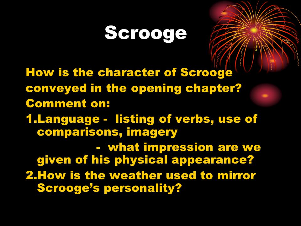 scrooge character analysis essay A summary of stave five: the end of it in charles dickens's a christmas carol learn exactly what happened in this chapter, scene, or section of a christmas carol and what it means perfect for acing essays, tests, and quizzes, as well as for writing lesson plans.