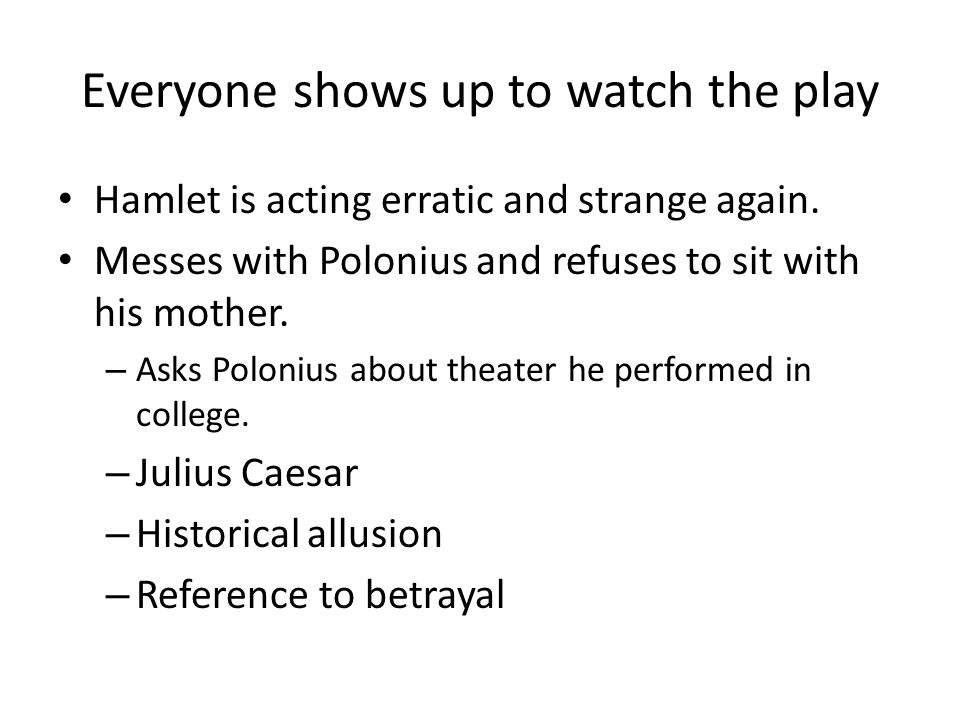 thesis of betrayal in hamlet Loyalty and betrayal in hamlet loyalty is a significant theme in 'hamlet' because hamlet himself judges people by their loyalty or disloyalty-his mother, ophelia.