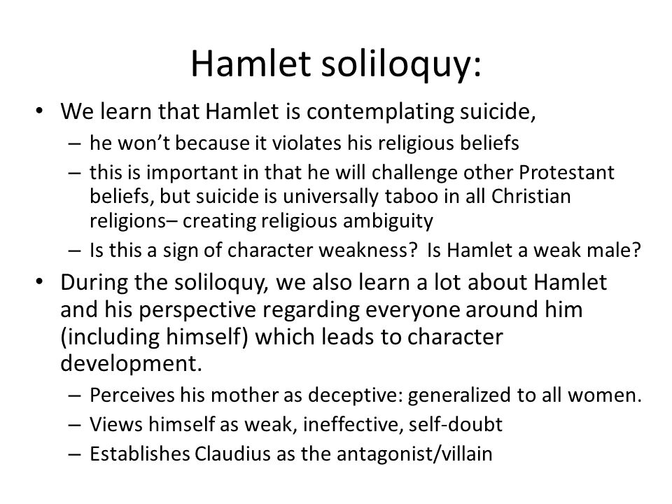 hamlet claudius suicide Free essay: in william shakespeare's hamlet, suicide is an important and continuous theme throughout the play hamlet is the main character who contemplates.