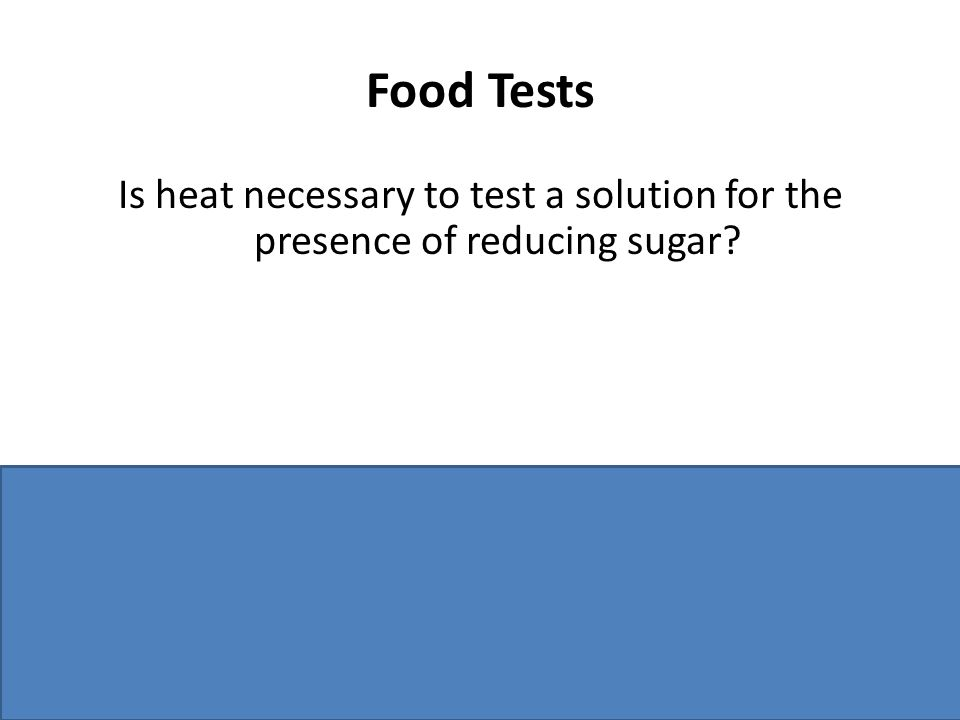 food tests to study the presence Testing the presence of food nutrients 1 testing the presence of food nutrients sean clark luinor a labastida iv-bohr caraga regional science high school 2 tests for carbohydrates: starch iodine solution is used to test for starch heat the food to be tested, (eg starch powder, potato, flour, ground.