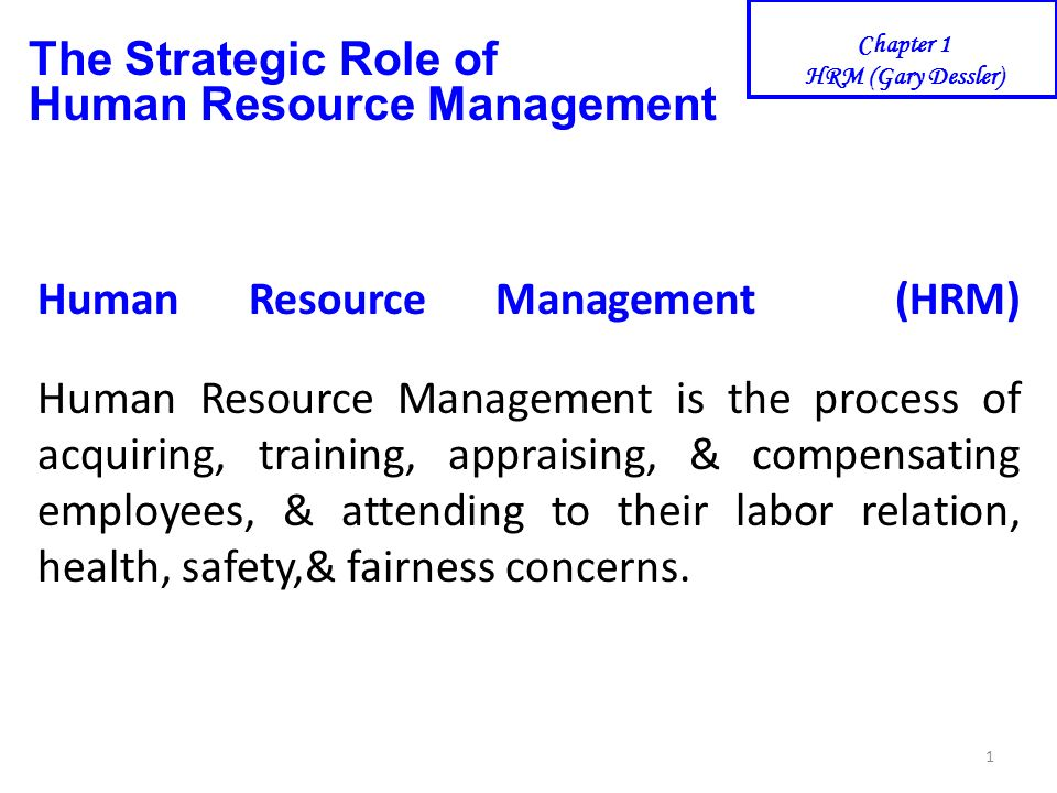 human resource management role Human resource management includes conducting job analyses, planning personnel needs,  role ambiguity turnover task analysis behavioral appr.