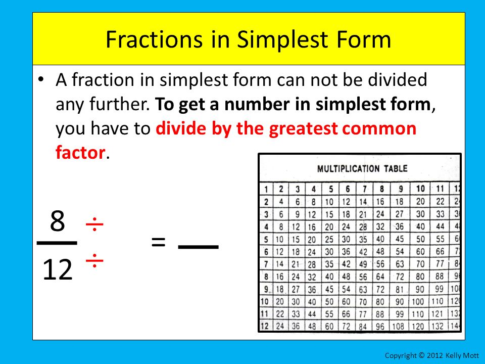 Everyday Math Grade 4 – Lesson 7.7 Equivalent Fractions - ppt ...