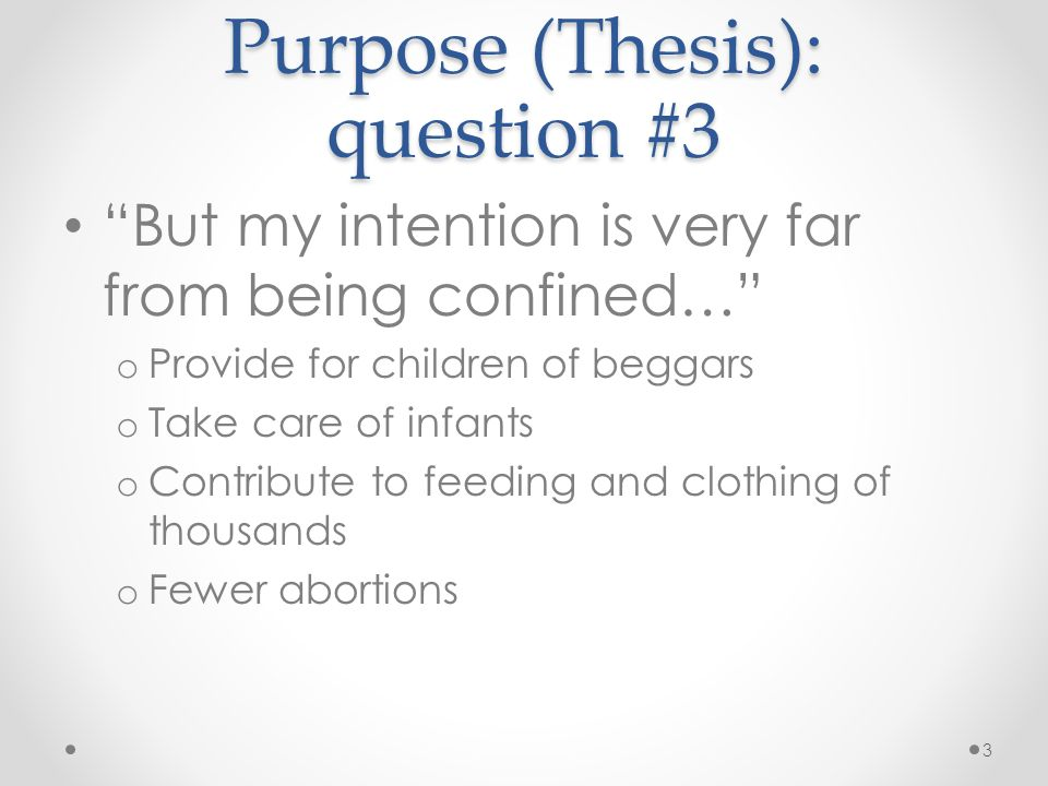 A Modest Proposal Questions Including What Effect Did 5766187
