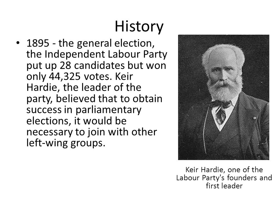 Keir Hardie, one of the Labour Party s founders and first leader