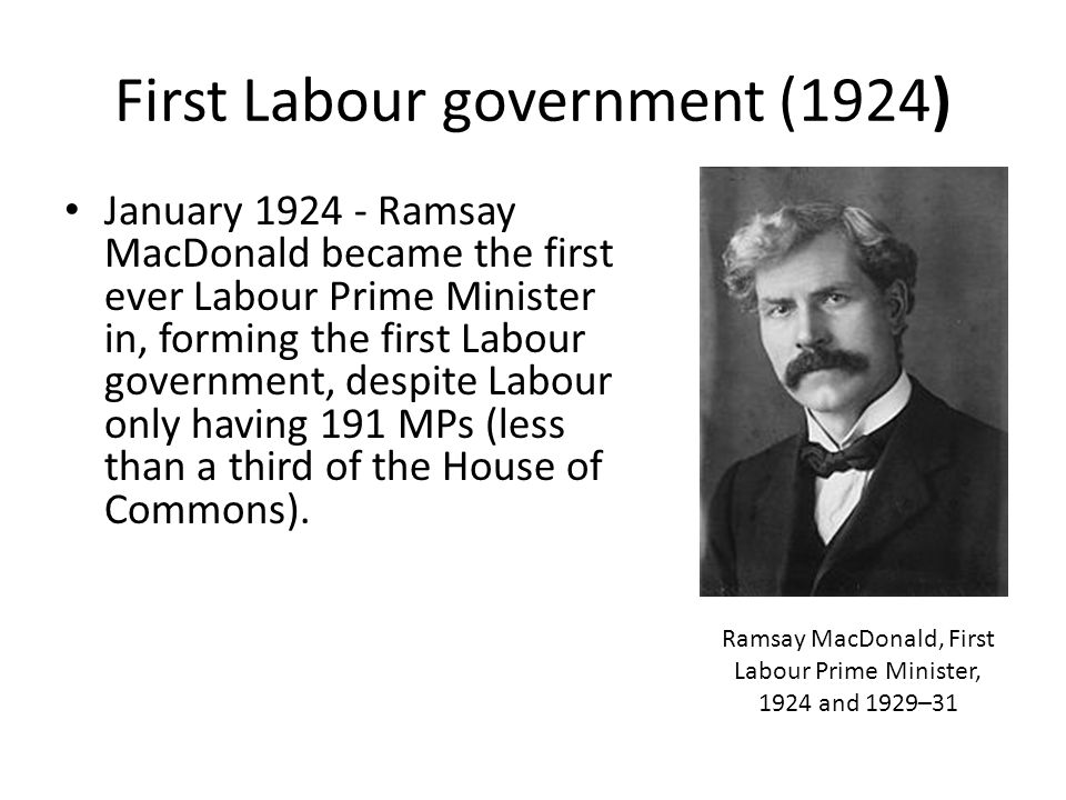 First Labour government (1924)