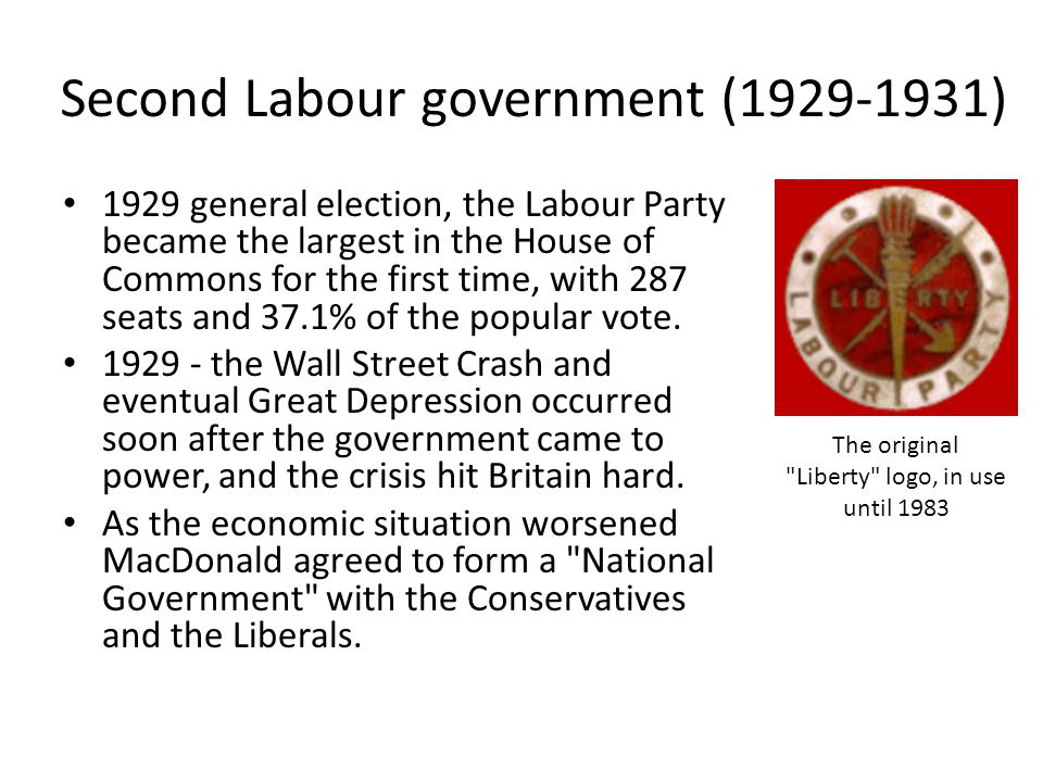 Second Labour government ( )